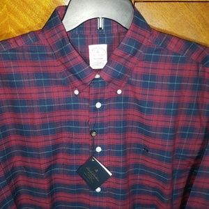 New with tags- Brooks Brothers Supima Madison, XL